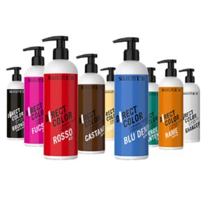Direkt pigment tartalmú ammónia mentes színező