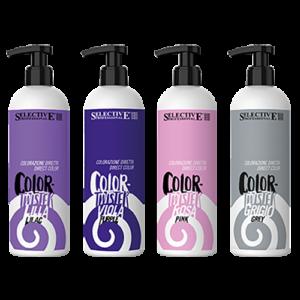 Direkt pigment tartalmú pasztell színezők
